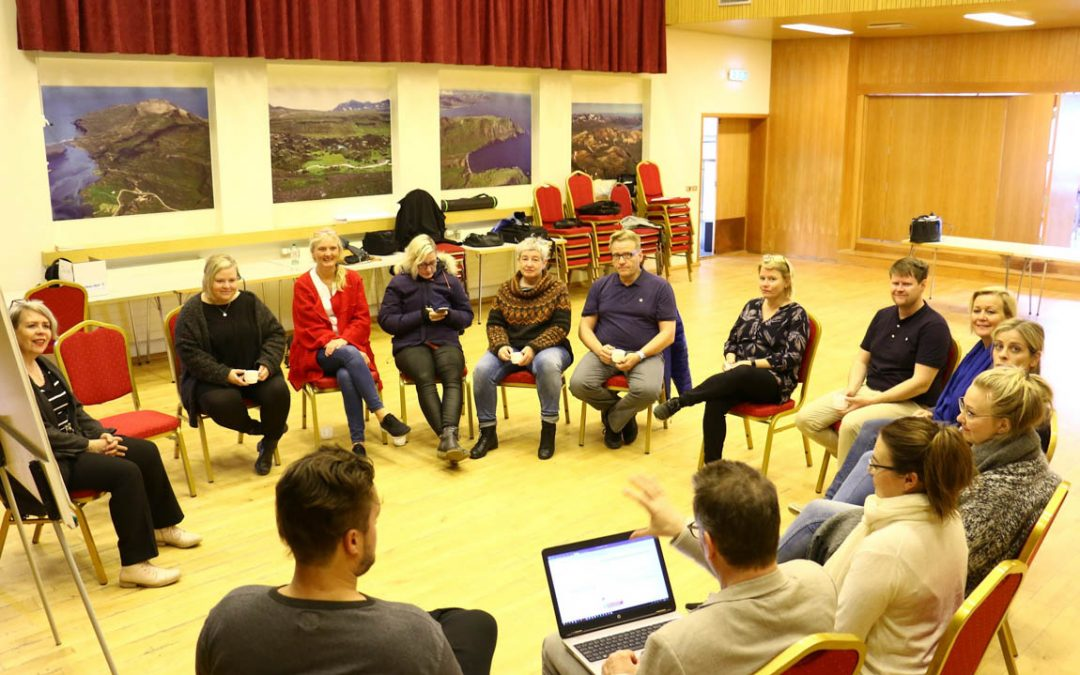 Innovation and Entrepreneurship for Fragile Communities – Pilot training in Iceland